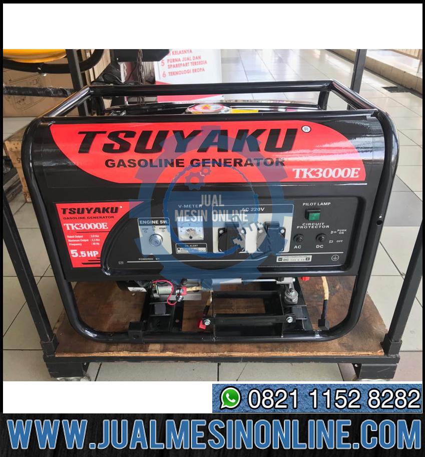 Genset 2000 Watt TK 3000 – Generator 2 Kw Lilitan Tembaga Berkualitas
