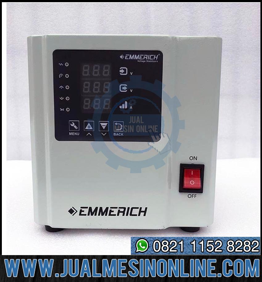Stabiliser Listrik Emmerich ALL NEW IDVM 2-ST – 2000 VA / 2 KVA Berkualitas