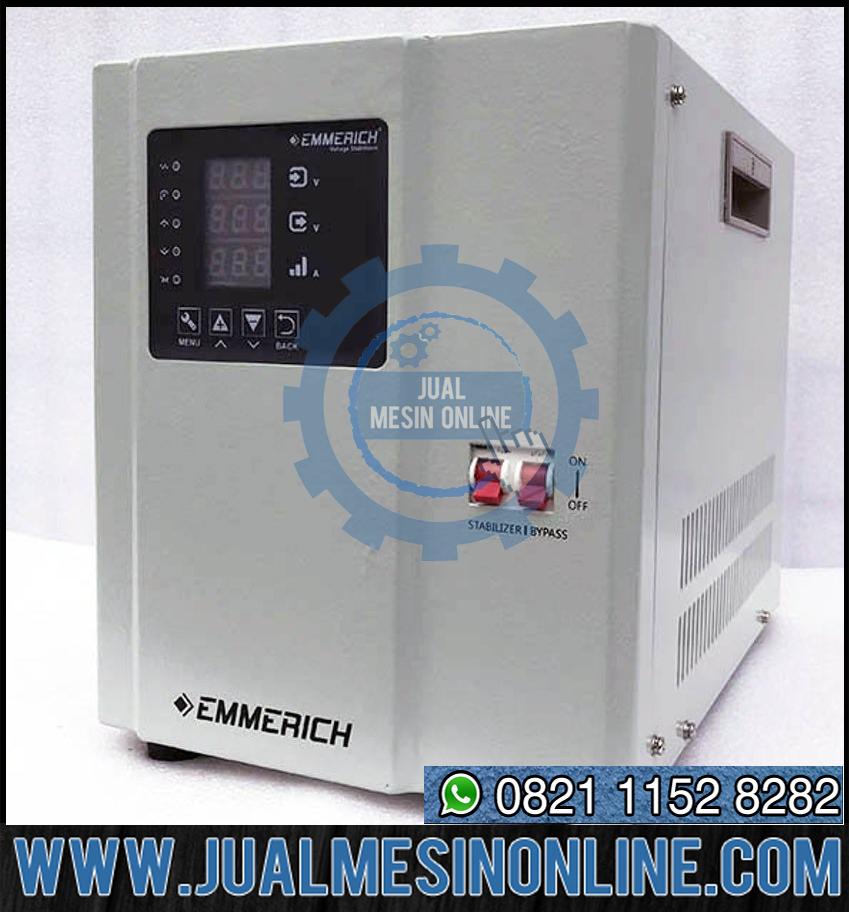Stabilizer EMMERICH 1.5 KVA 1 Phase IDVM 3-ST Berkualitas