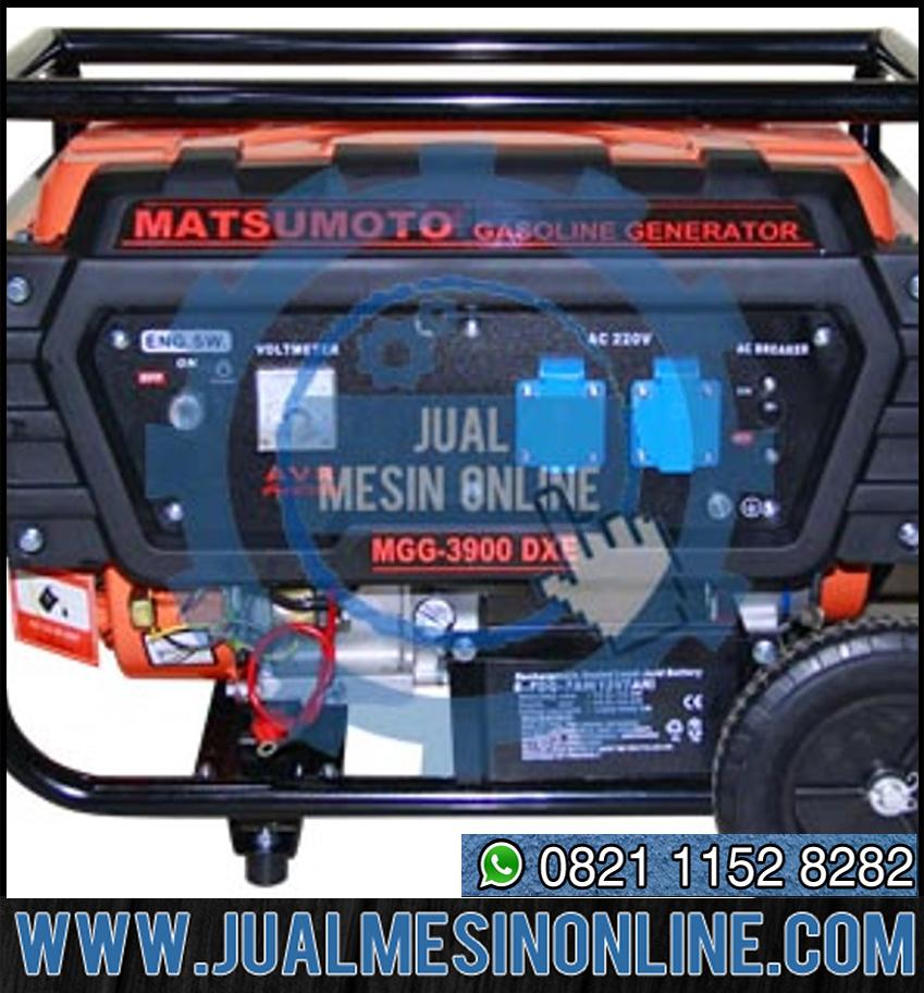 GENSET – GASOLINE GENERATOR MATSUMOTO MGG 3900 DXE BERKUALITAS